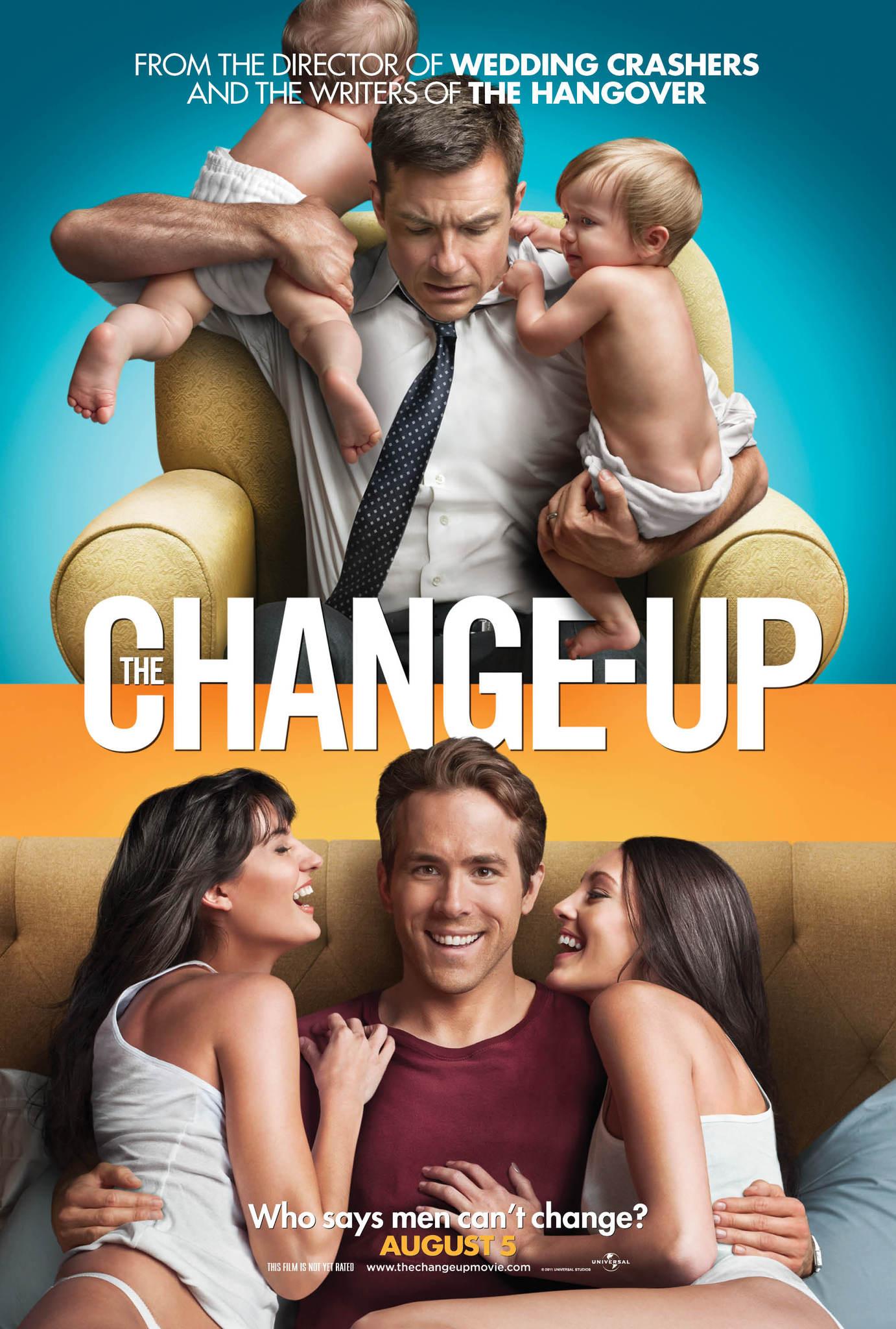 Πόστερ της ταινίας «Αλλάζουμε; (2011) | The Change-Up»