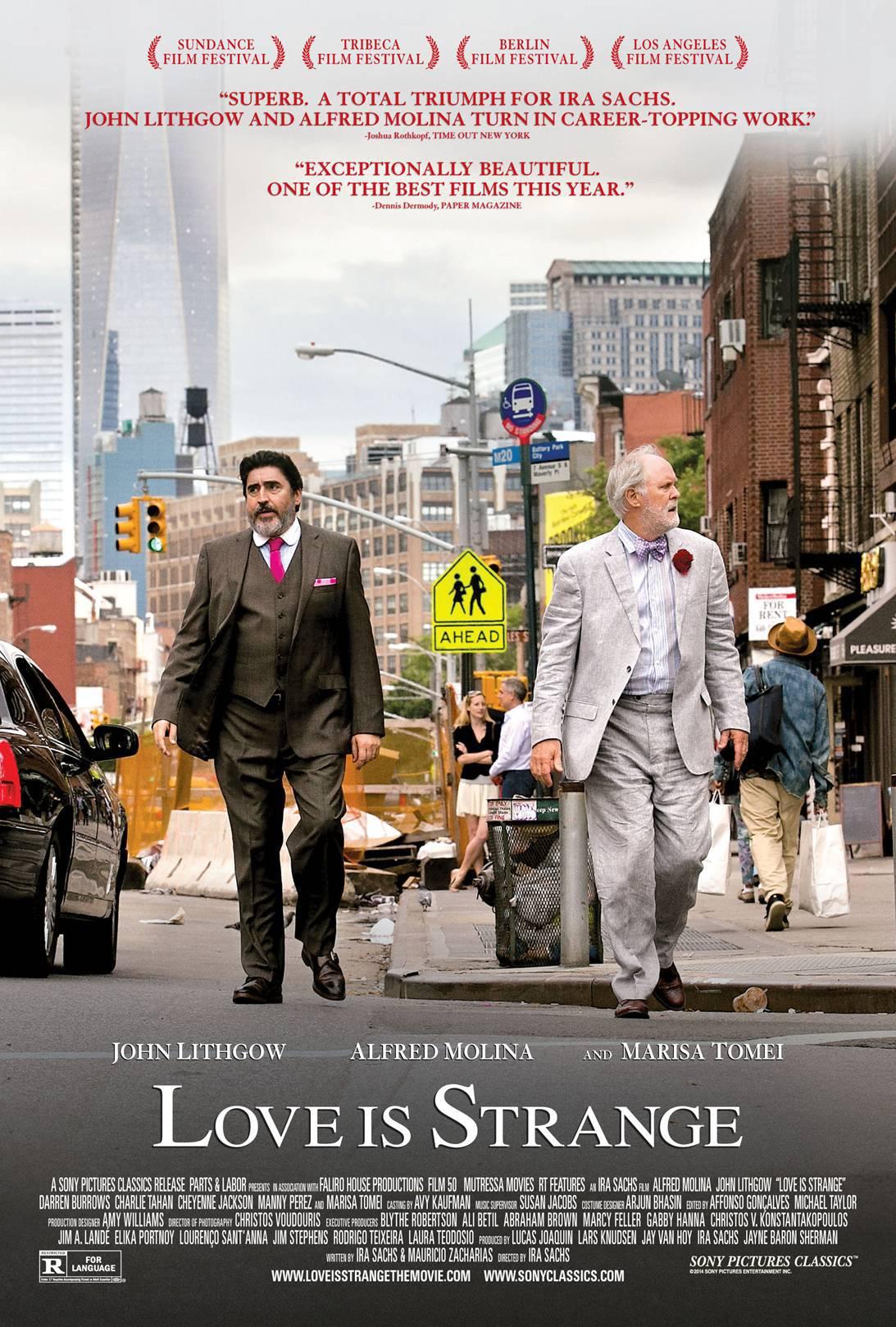 Πόστερ της ταινίας «Η Αγάπη Είναι Παράξενη (2014)»