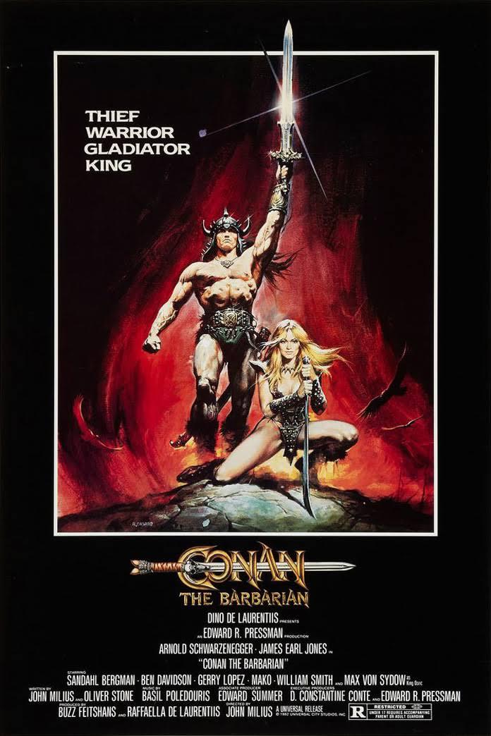 Πόστερ της ταινίας «Κόναν, ο Βάρβαρος (1982) | Conan the Barbarian»