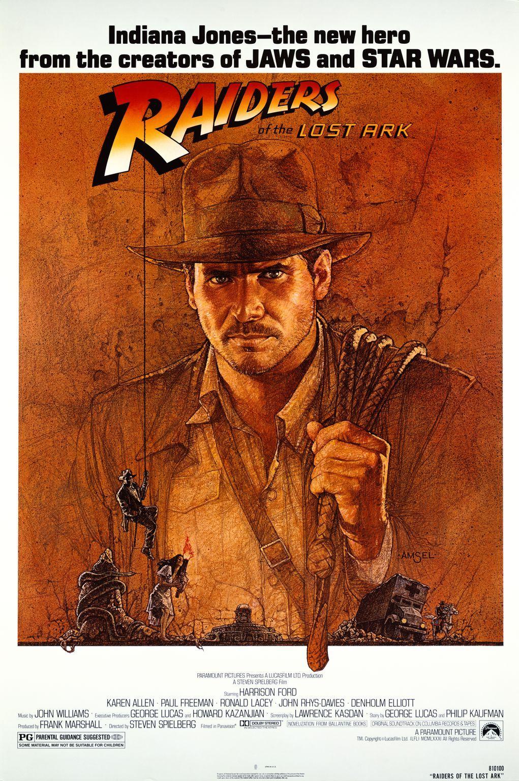 Πόστερ της ταινίας «Οι Κυνηγοί της Χαμένης Κιβωτού (1981)»