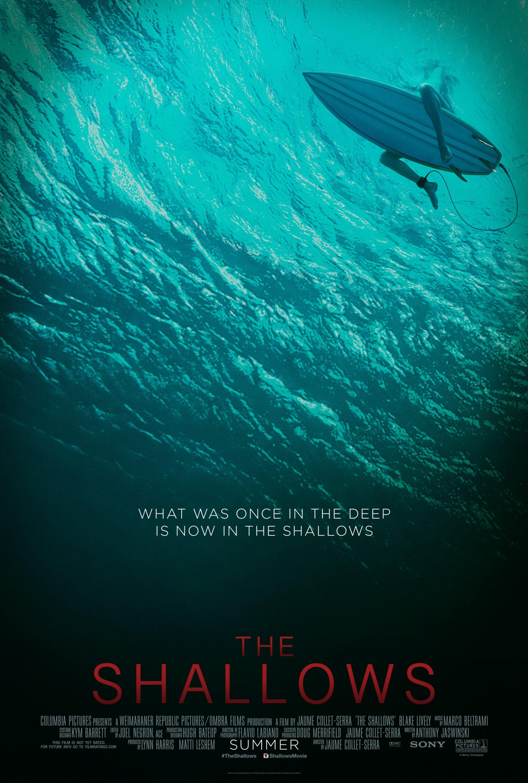 Πόστερ της ταινίας «Σε ρηχά νερά (2016) | The Shallows»