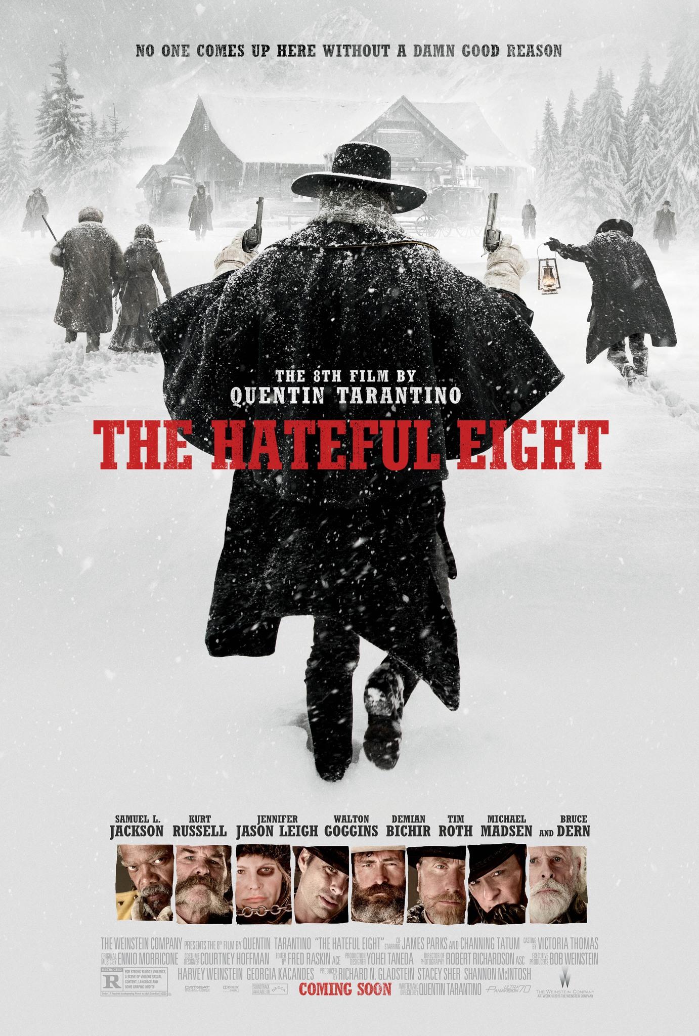 Πόστερ της ταινίας «Οι μισητοί οκτώ (2015) | The Hateful Eight»