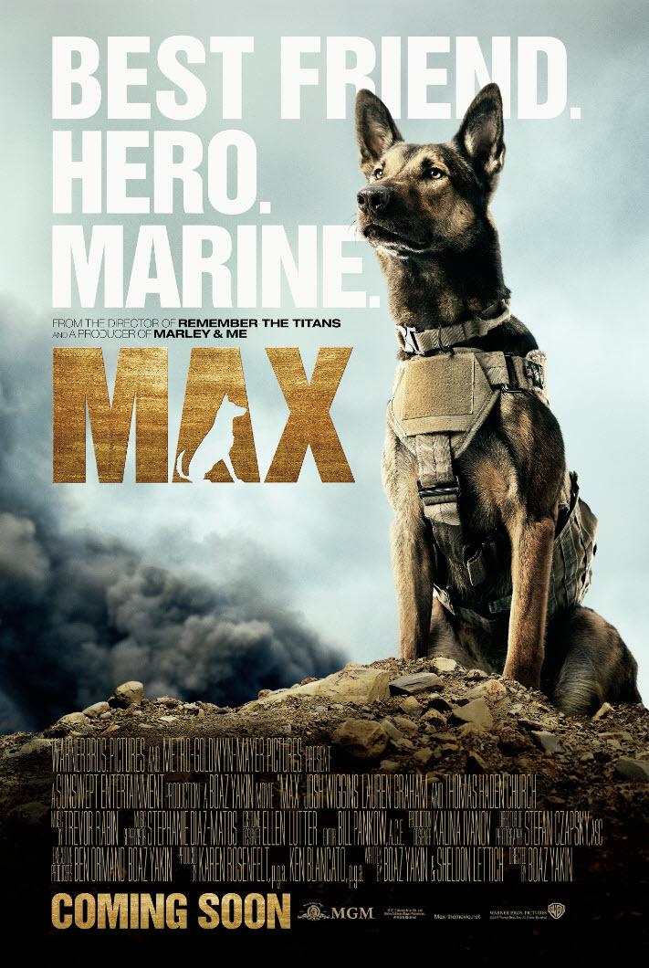 Πόστερ της ταινίας «Μαξ (2015) | Max»