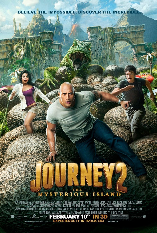 Πόστερ της ταινίας «Ταξίδι 2: Το Μυστηριώδες Νησί (2012)»