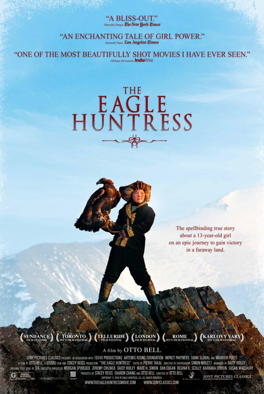 Πόστερ της ταινίας «Η Κυνηγός με τον Αετό (2016) | The Eagle Huntress»