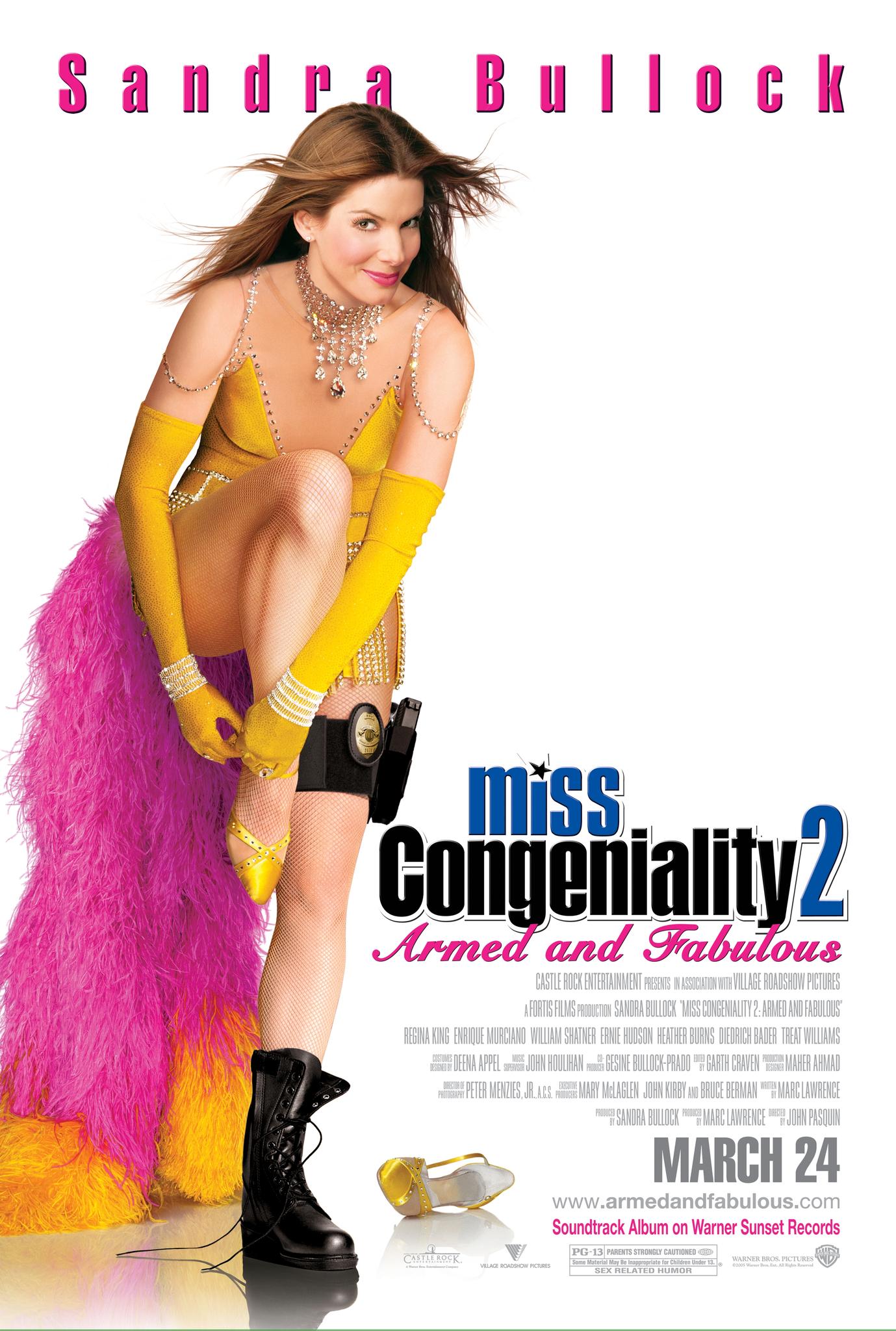 Πόστερ της ταινίας «Miss με το Ζόρι 2: Κυκλοφορεί και Οπλοφορεί (2005)»