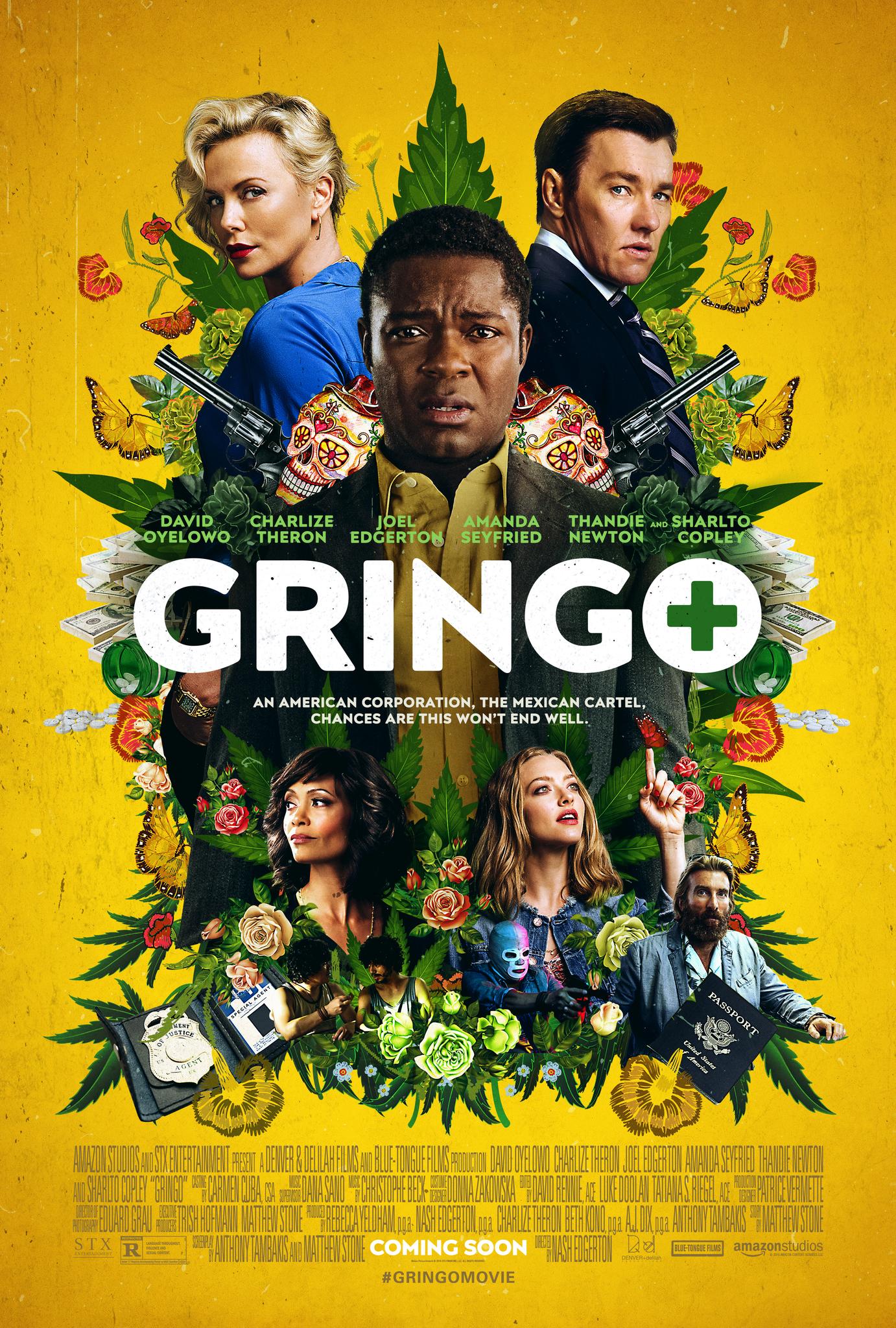 Πόστερ της ταινίας «Ένας Ξένος στην Πόλη (2018) | Gringo»