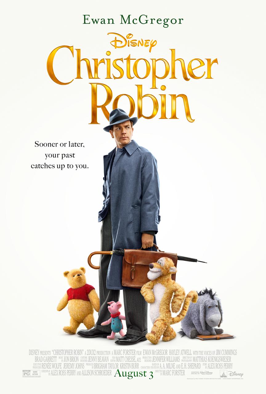 Πόστερ της ταινίας «Κρίστοφερ και Γουίνι (2018) | Christopher Robin»
