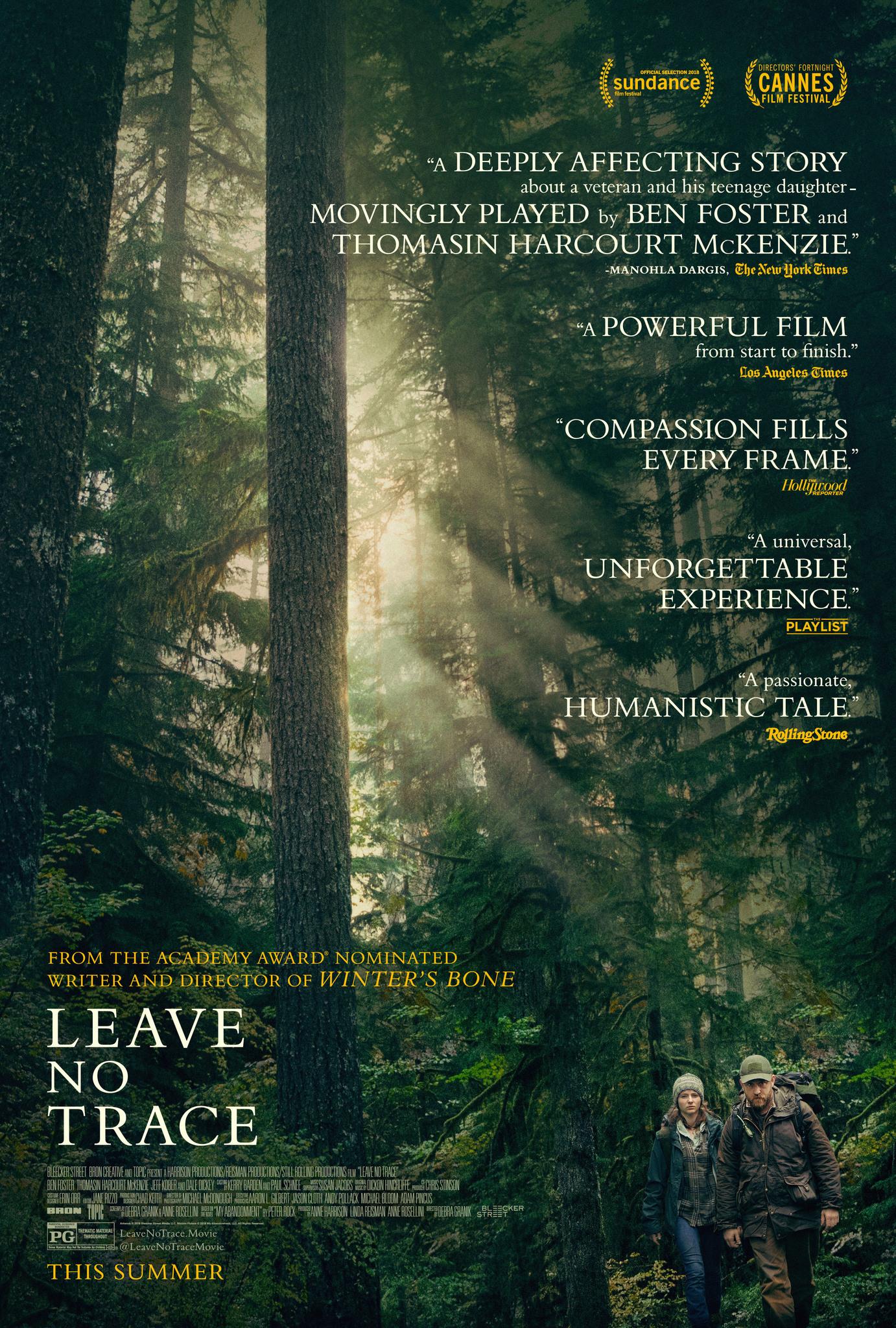 Πόστερ της ταινίας «Χωρίς Ίχνος (2018)   Leave No Trace»