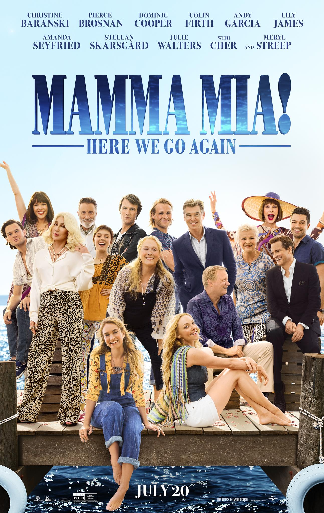 Πόστερ της ταινίας «Mamma Mia: Here We Go Again! (2018)»