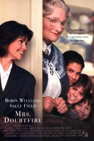 Πόστερ της ταινίας «Η κα Ντάουτφαϊρ (1993)   Mrs. Doubtfire»