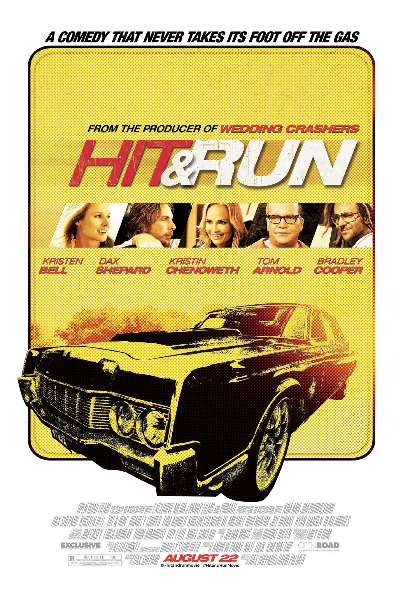 Πόστερ της ταινίας «Ανοιχτοί Λογαριασμοί (2012) | Hit and Run»