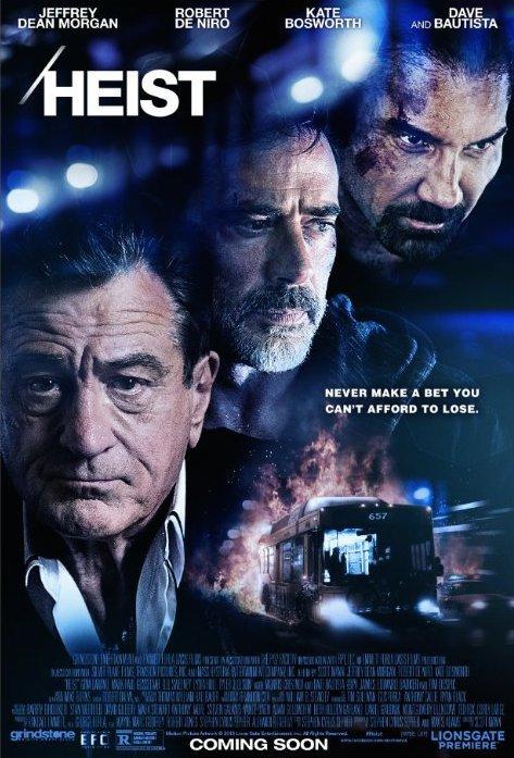 Πόστερ της ταινίας «Λεωφορείο 657 (2015)   Heist»