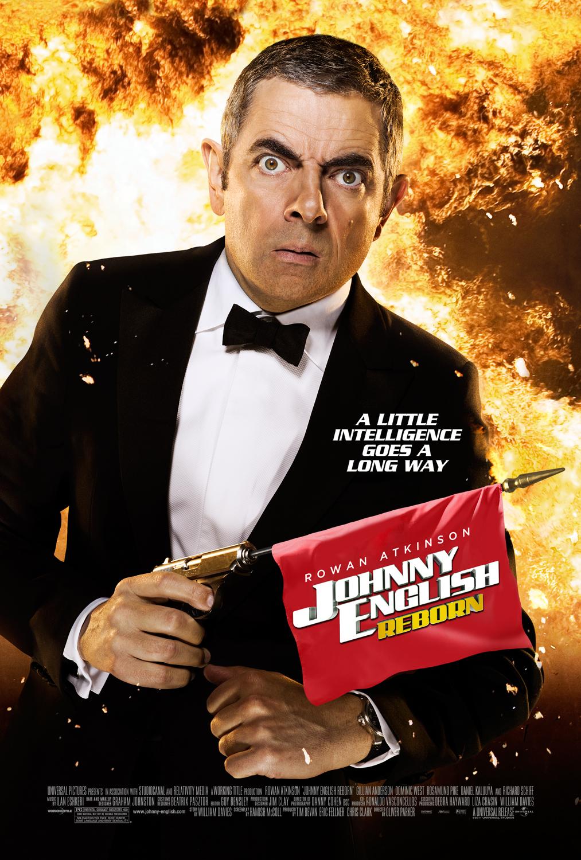 Πόστερ της ταινίας «Johnny English: Η Επιστροφή (2011)   Johnny English Reborn»