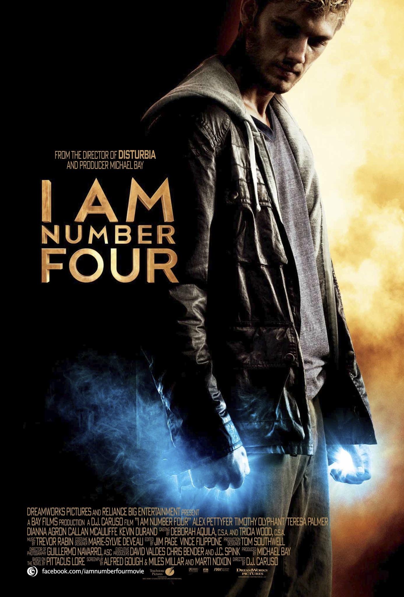Πόστερ της ταινίας «Είμαι το Νούμερο Τέσσερα (2011) | I Am Number Four»