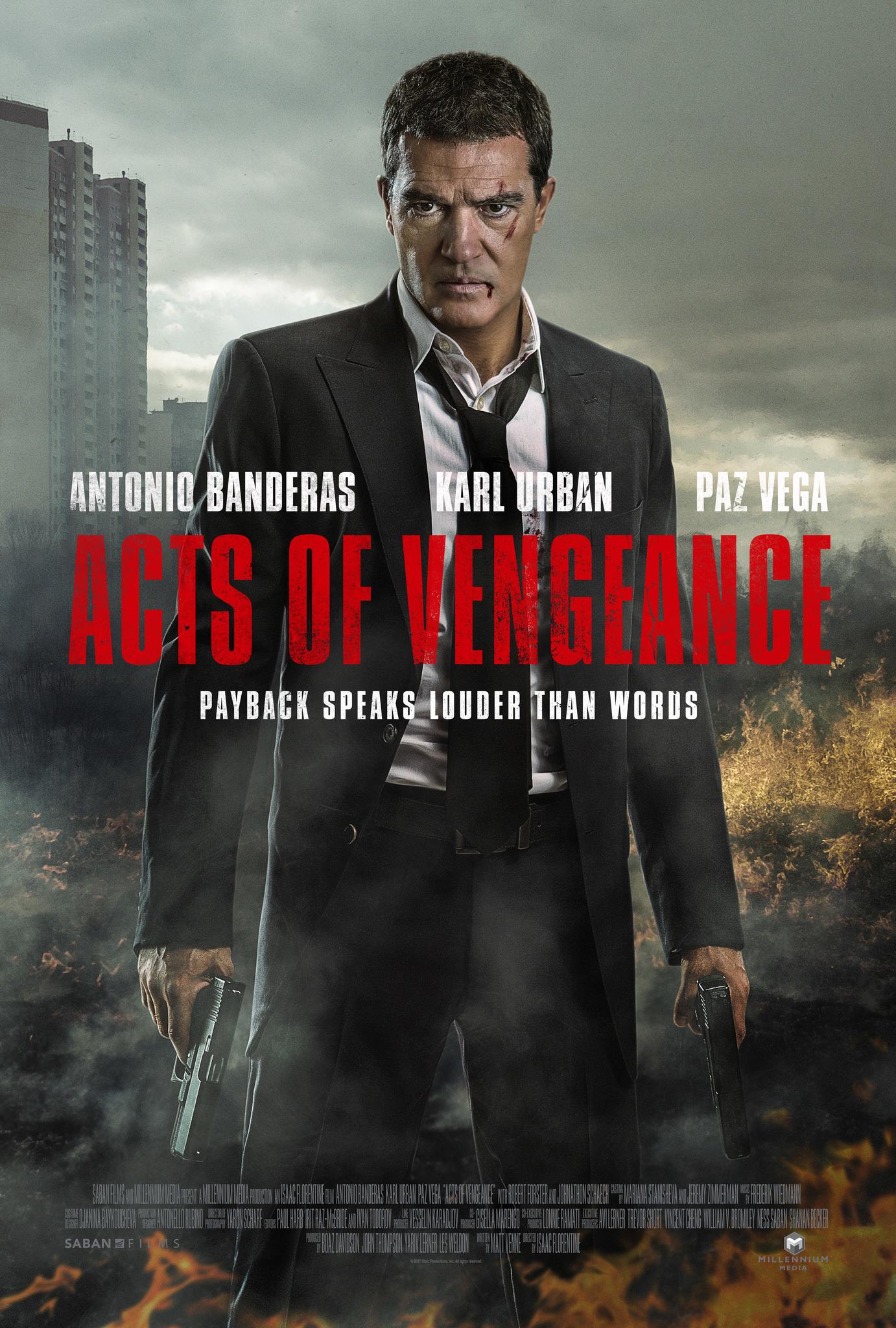 Πόστερ της ταινίας «Οργισμένος Εκδικητής (2017) | Acts of Vengeance»