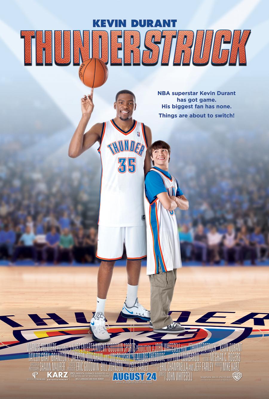 Πόστερ της ταινίας «Thunderstruck (2012)»