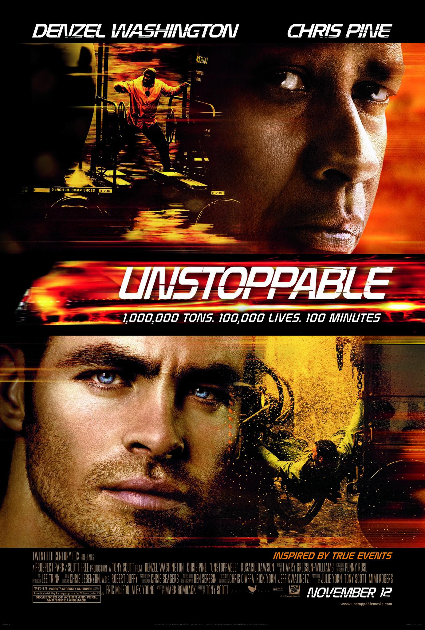 Πόστερ της ταινίας «Ασταμάτητο (2010)   Unstoppable»