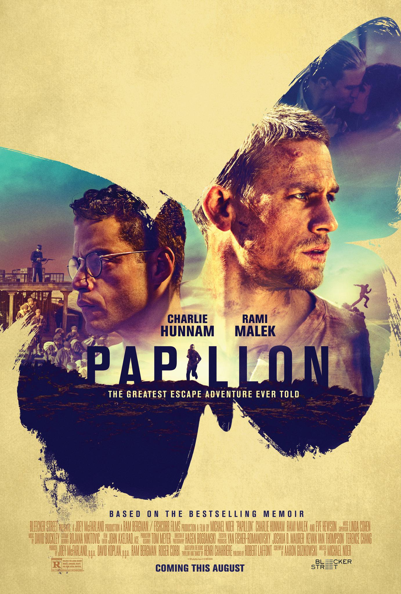 Πόστερ της ταινίας «Ο Πεταλούδας (2017)   Papillon»