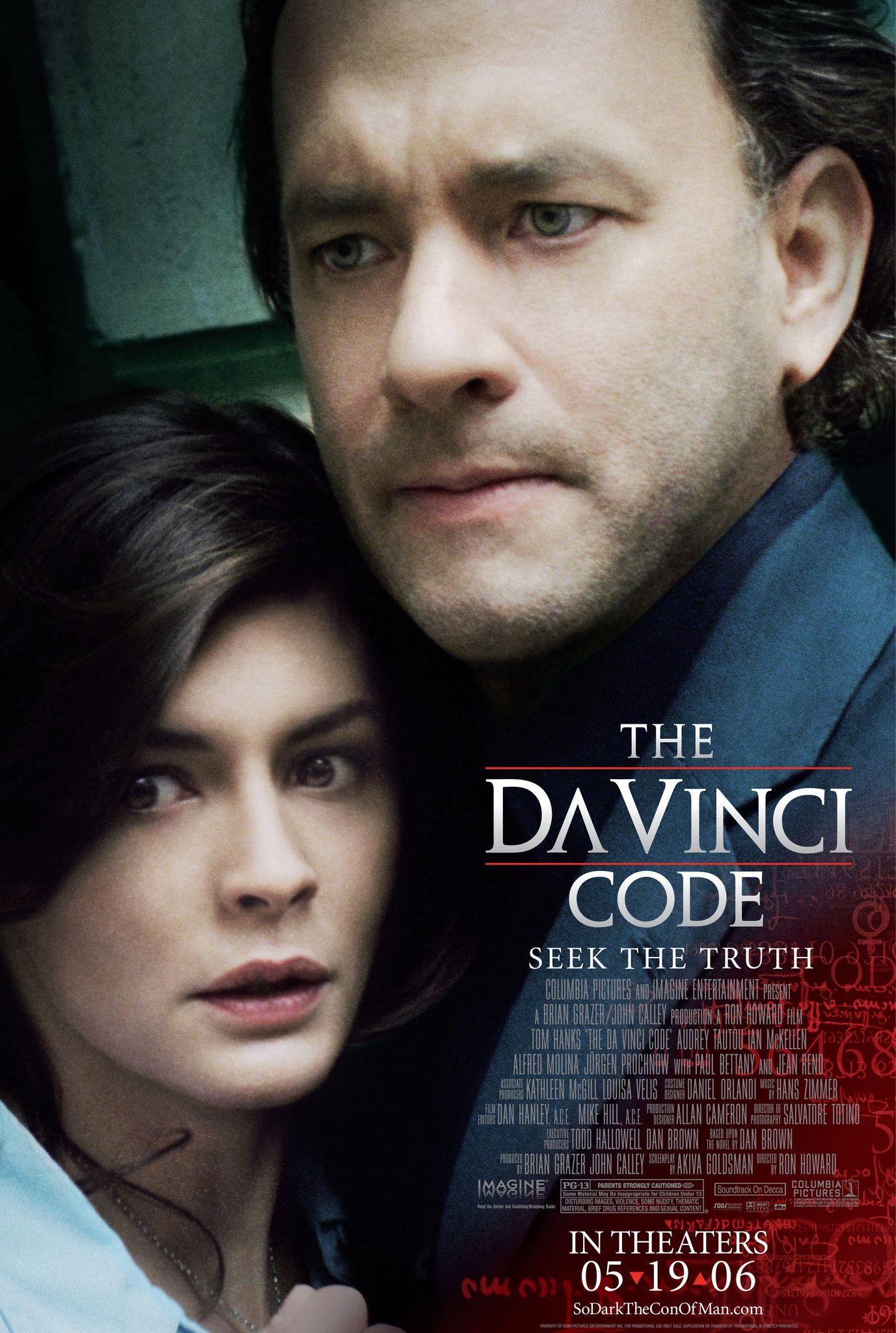 Πόστερ της ταινίας «Κώδικας Da Vinci (2006)   The Da Vinci Code»