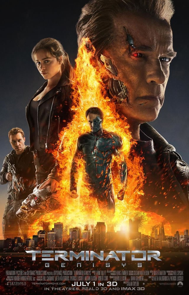 Πόστερ της ταινίας «Εξολοθρευτής: Γένεσις (2015)   Terminator Genisys»