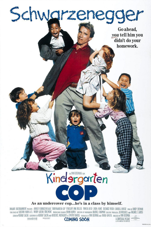 Πόστερ της ταινίας «Ο μπάτσος του θηριοτροφείου (1990) | Kindergarten Cop»