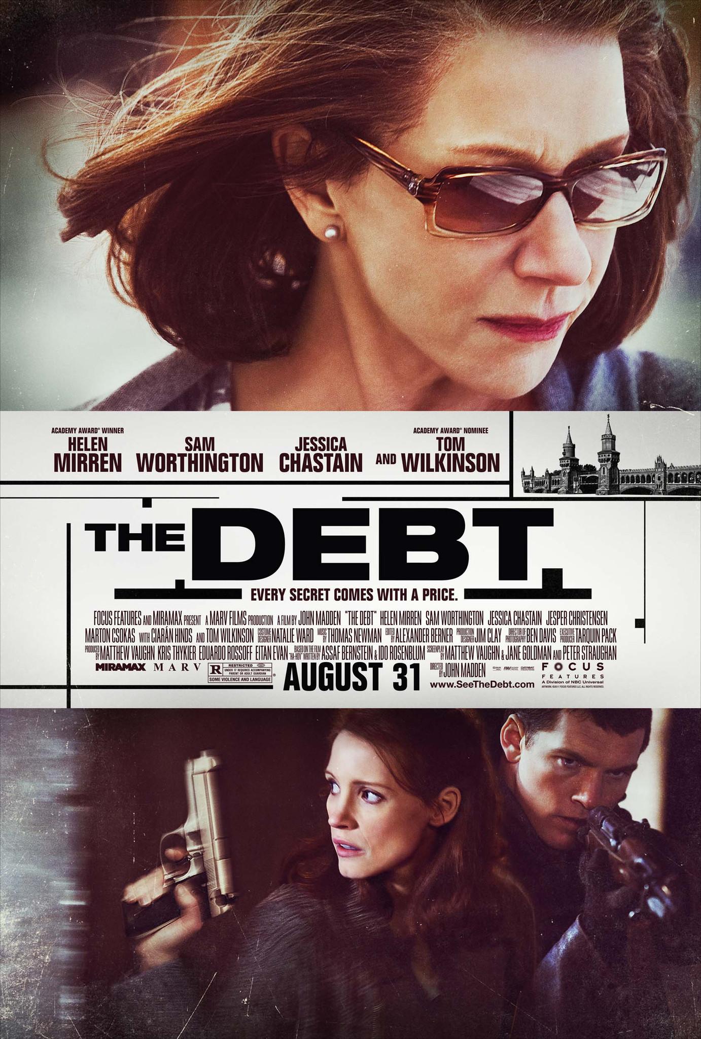 Πόστερ της ταινίας «Το χρέος (2010)   The Debt»