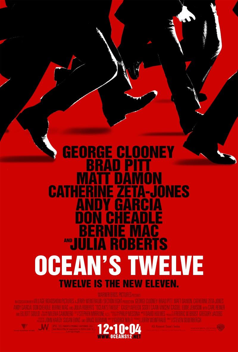 Πόστερ της ταινίας «Η Συμμορία των Δώδεκα (2004) | Ocean's Twelve»