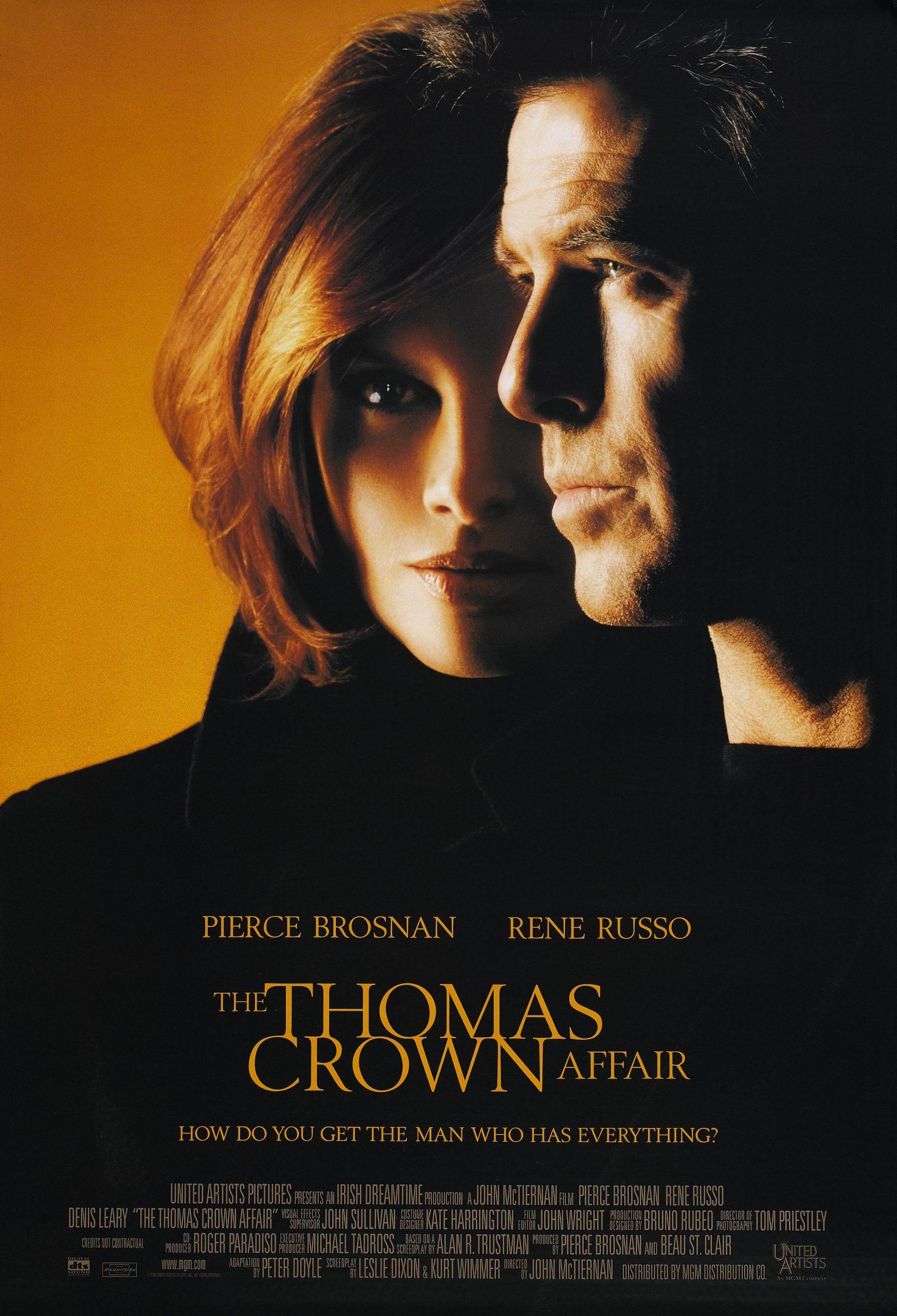 Πόστερ της ταινίας «Υπόθεση Τόμας Κράουν (1999)   The Thomas Crown Affair»