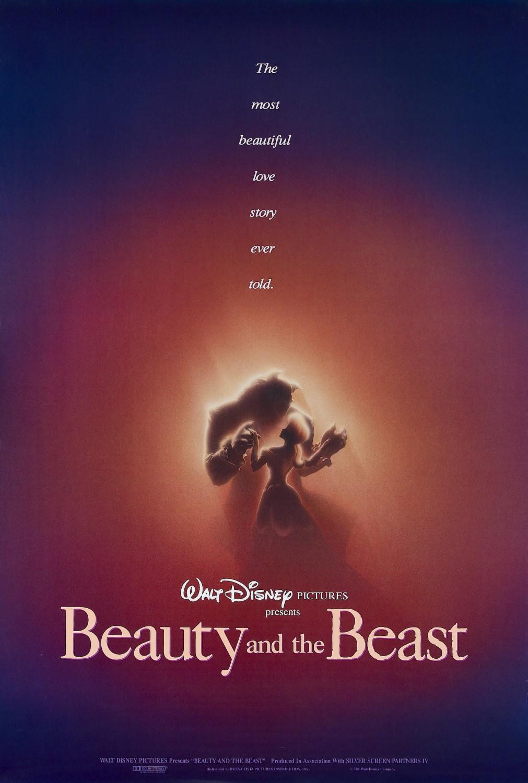 Πόστερ της ταινίας «Η Πεντάμορφη και το Τέρας (1991)   Beauty and the Beast»