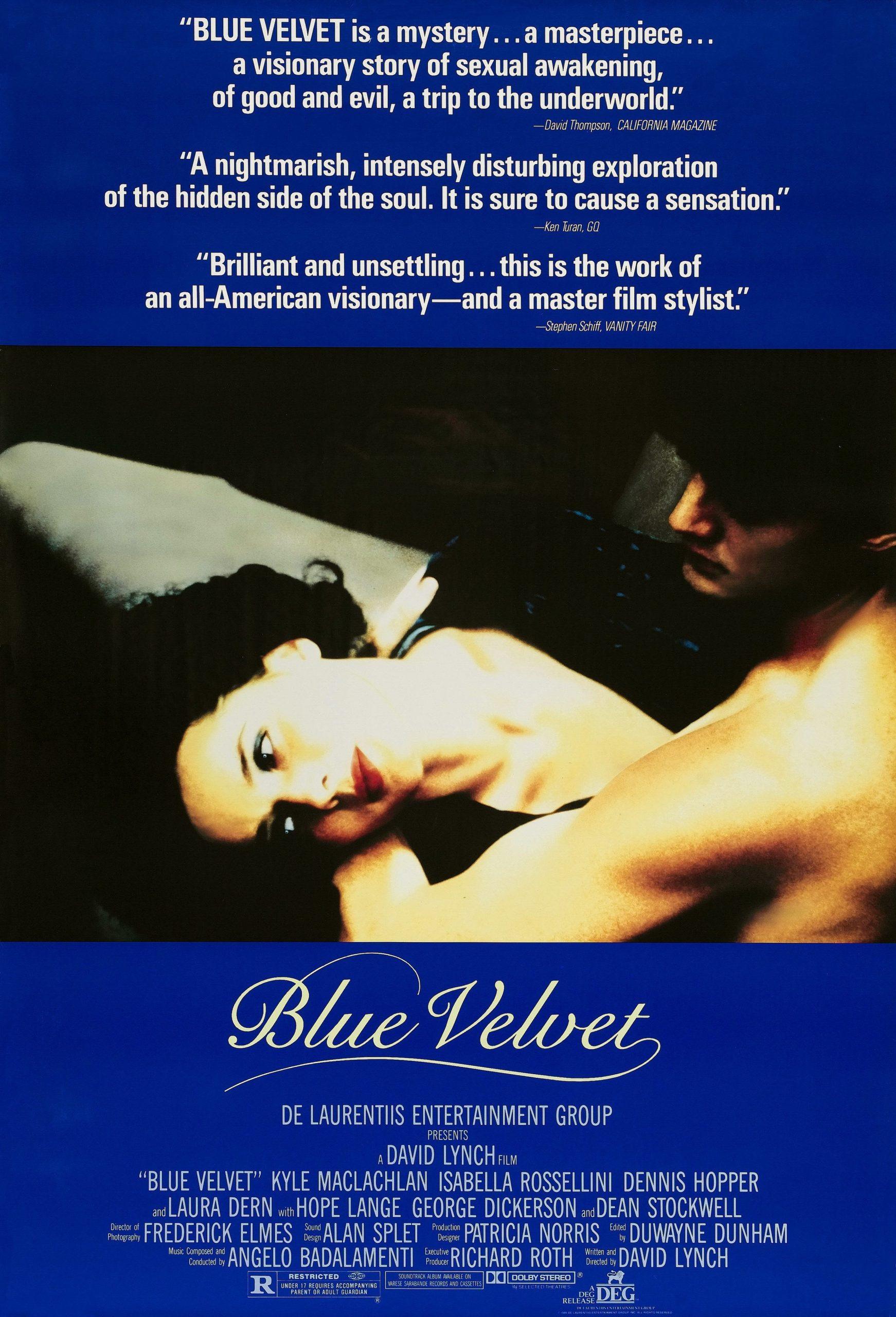 Πόστερ της ταινίας «Μπλε Βελούδο (1986) | Blue Velvet»