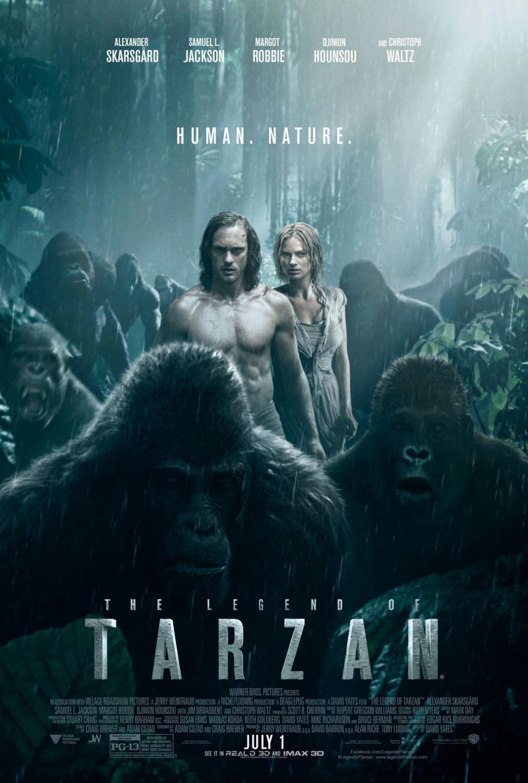 Πόστερ της ταινίας «Ο Θρύλος του Ταρζάν (2016) | The Legend of Tarzan»