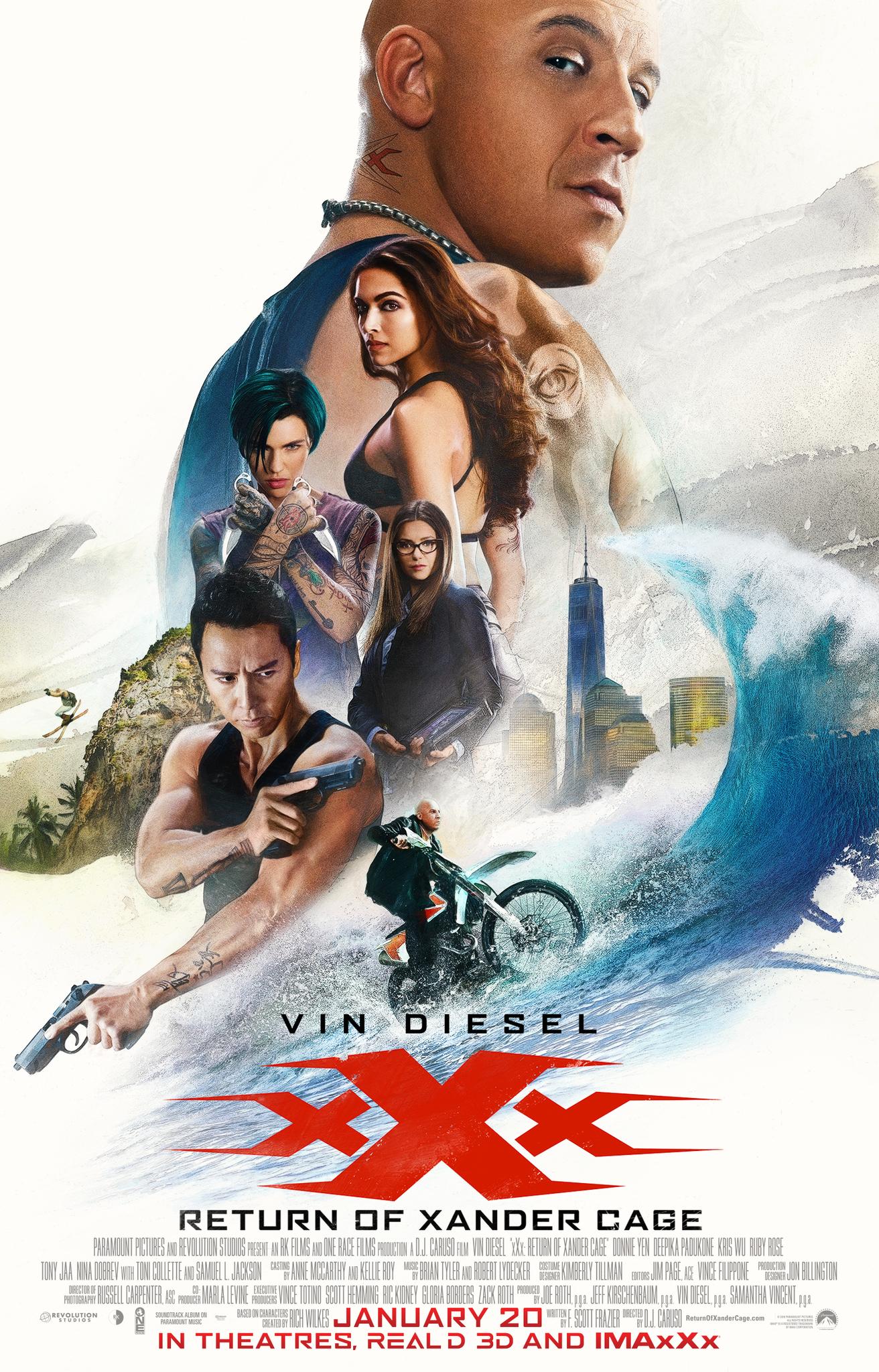 Πόστερ της ταινίας «xXx: Επανεκκίνηση (2017)   xXx: Return of Xander Cage»