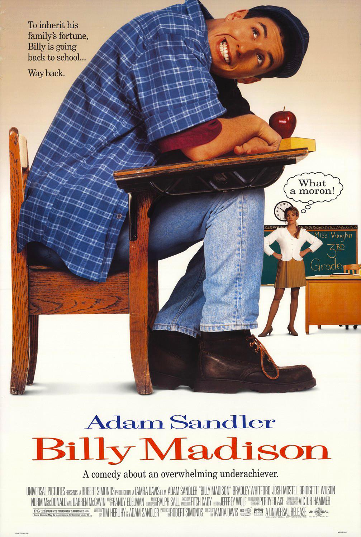 Πόστερ της ταινίας «Μπίλι Μάντισον – Billy Madison (1995)»