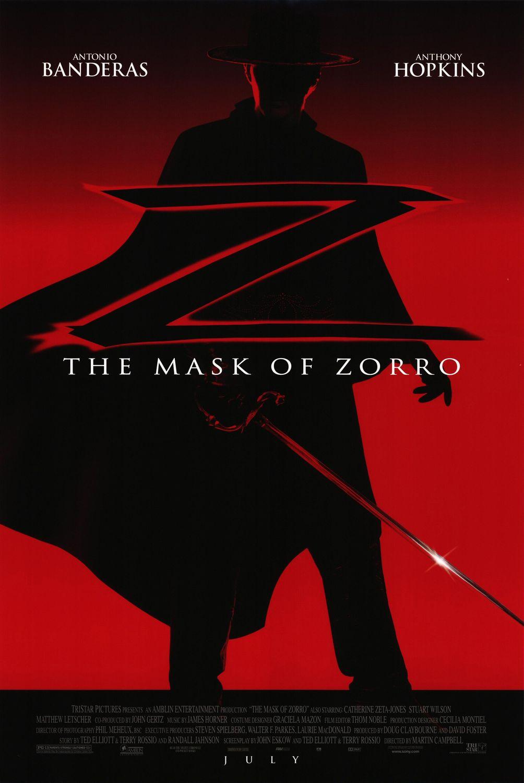 Πόστερ της ταινίας «Η Μάσκα του Ζορρό (1998) | The Mask of Zorro»