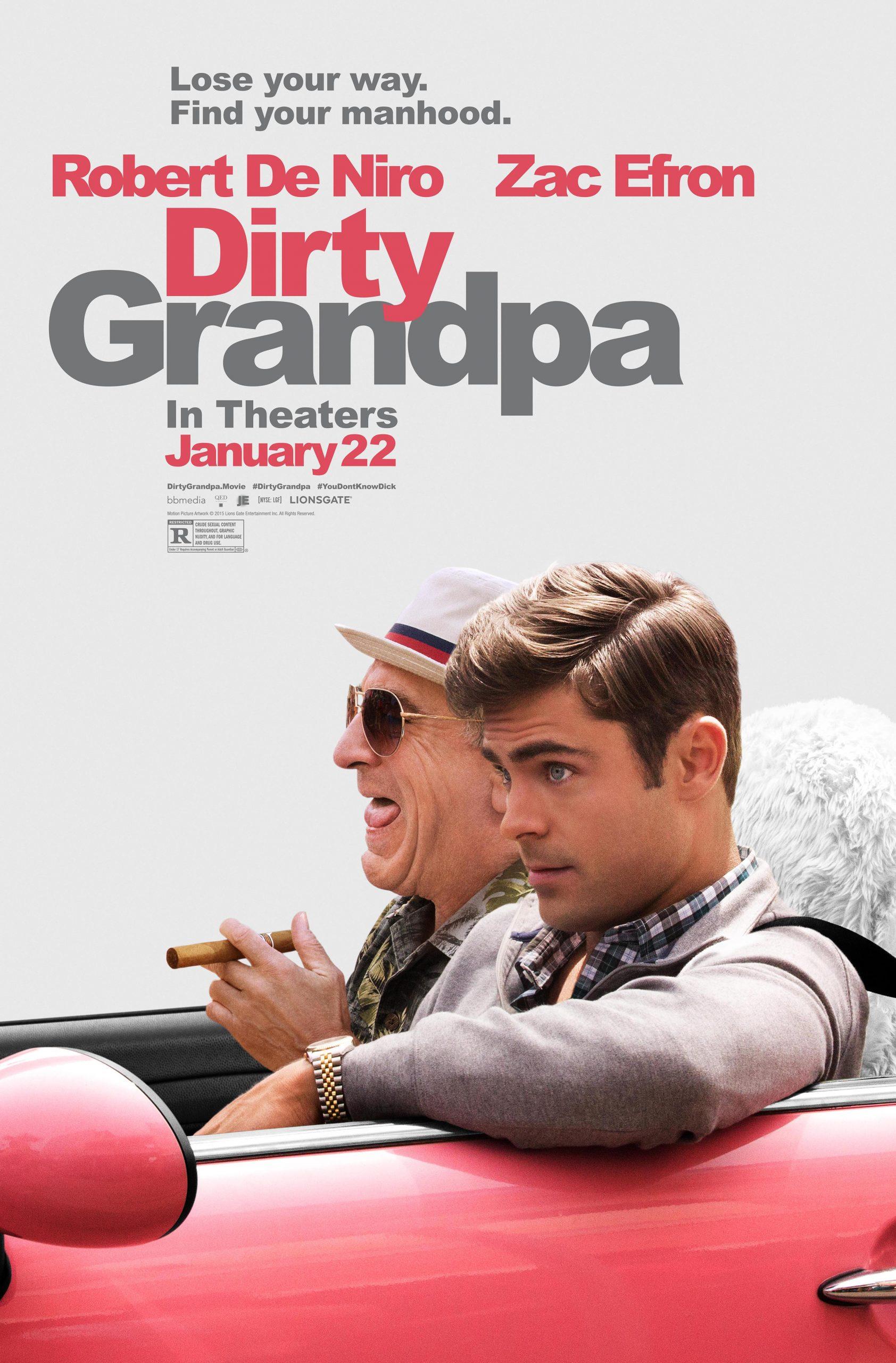 Πόστερ της ταινίας «Άτακτος Παππούς (2016) | Dirty Grandpa»