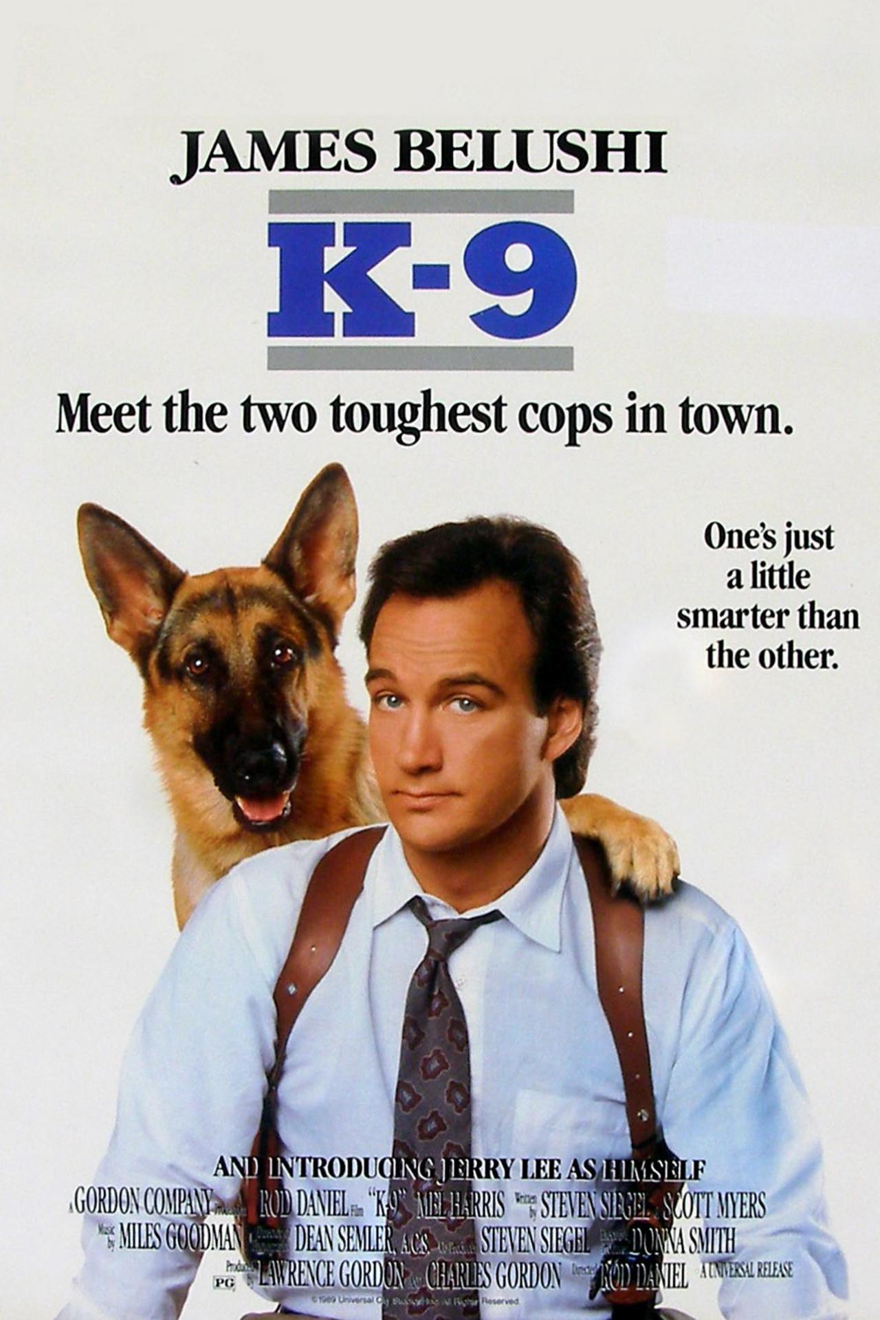 Πόστερ της ταινίας «Λαγωνικό Κ-9 (1989) | K-9»