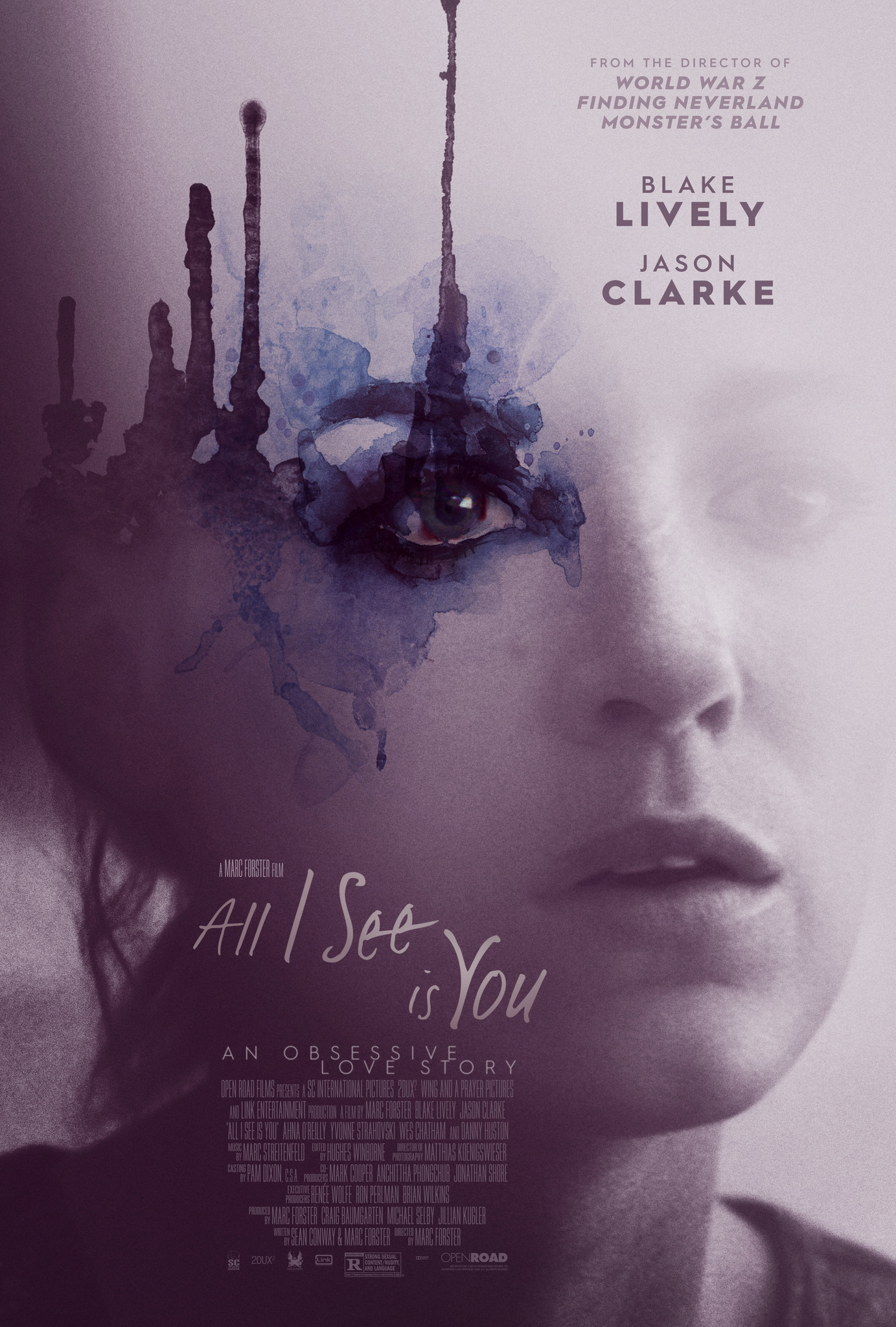 Πόστερ της ταινίας «Μόνο Εσένα Βλέπω (2016) | All I See Is You»