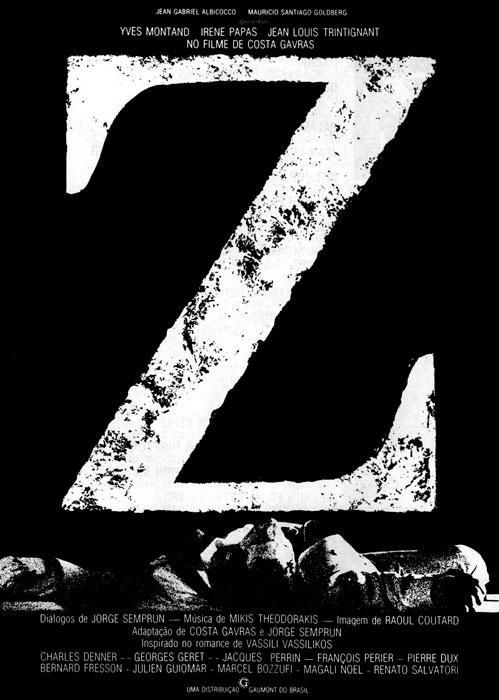 Πόστερ της ταινίας «Ζ (1969)   Z»