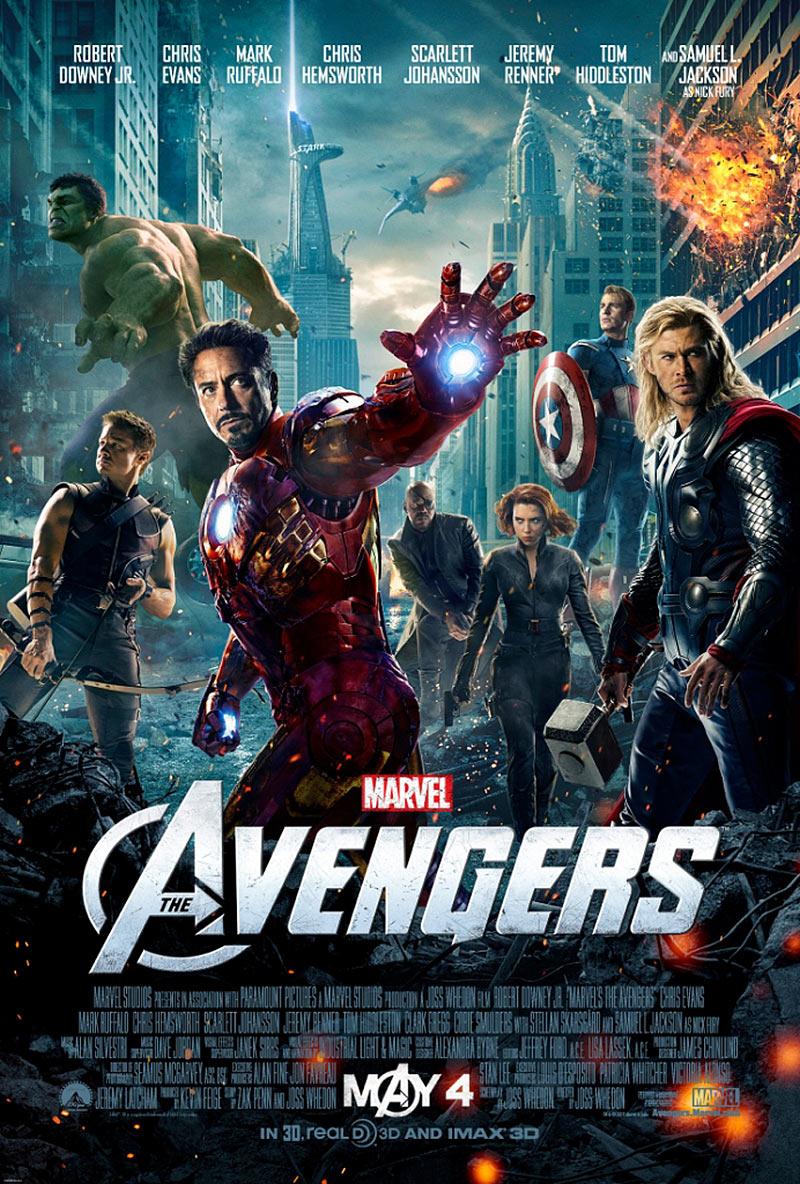 Πόστερ της ταινίας «Οι Εκδικητές (2012)   The Avengers»