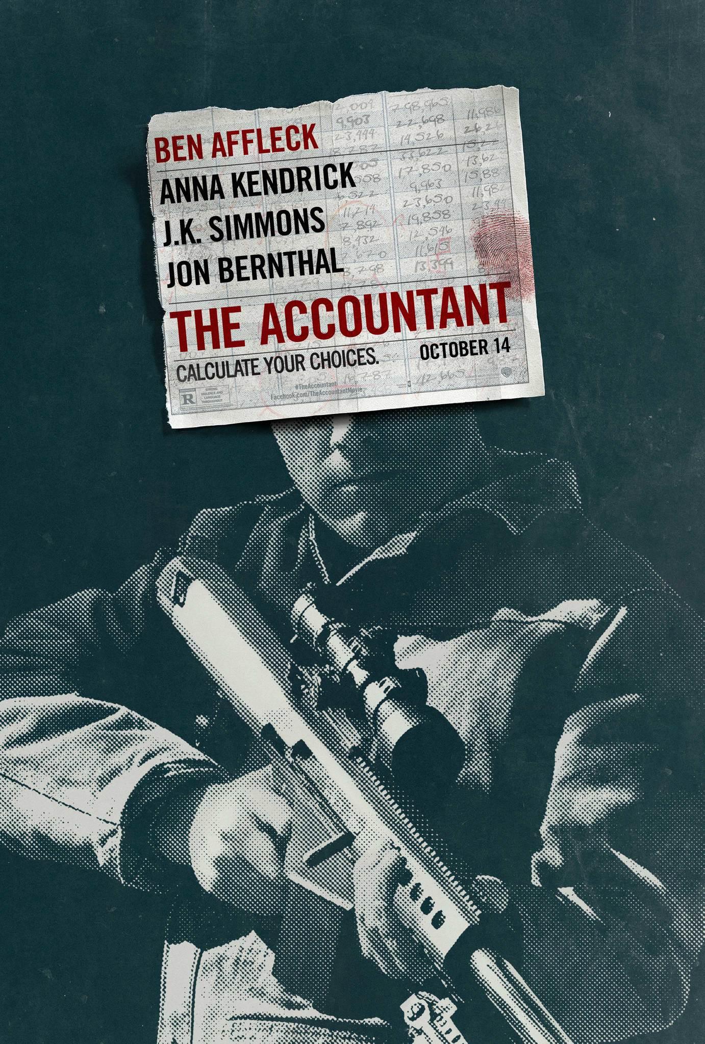 Πόστερ της ταινίας «Ο Λογιστής (2016) | The Accountant»