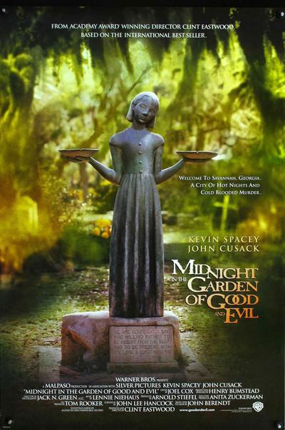 Πόστερ της ταινίας «Μεσάνυχτα στον Κήπο του Καλού και του Κακού (1997)»