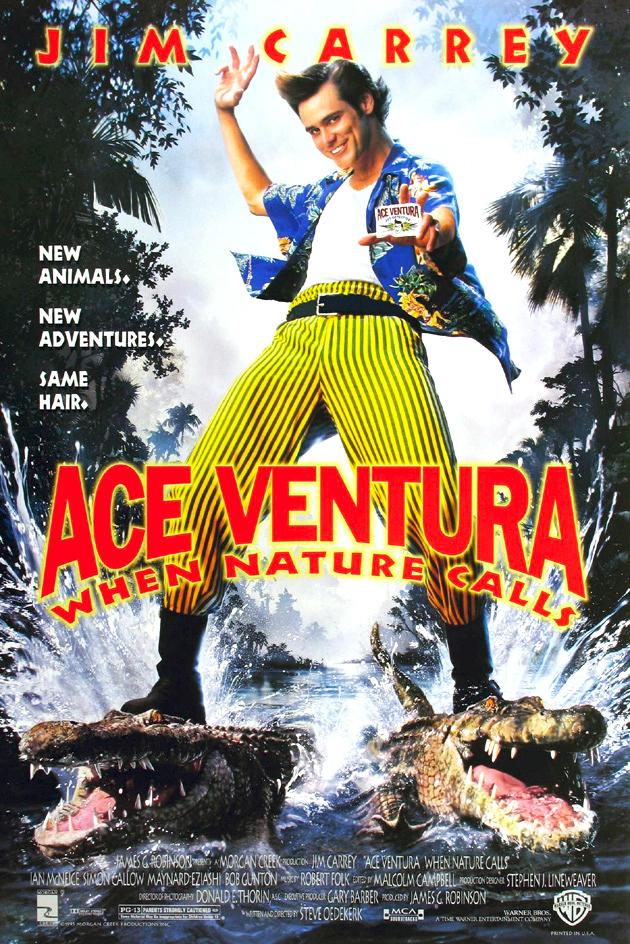 Πόστερ της ταινίας «Ντετέκτιβ ζώων 2: Χαμός στη ζούγκλα (1995)»