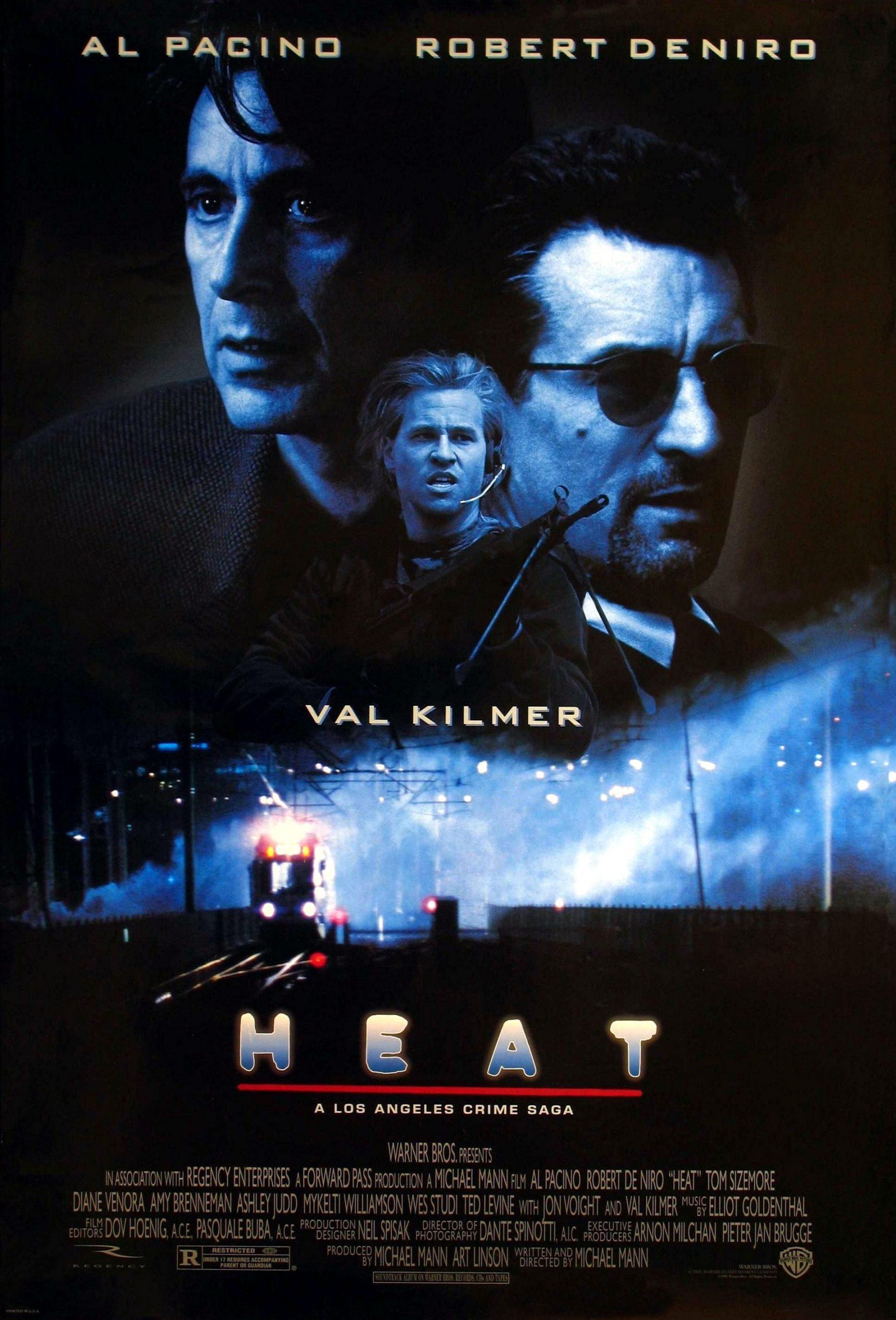 Πόστερ της ταινίας «Ένταση (1995)   Heat»