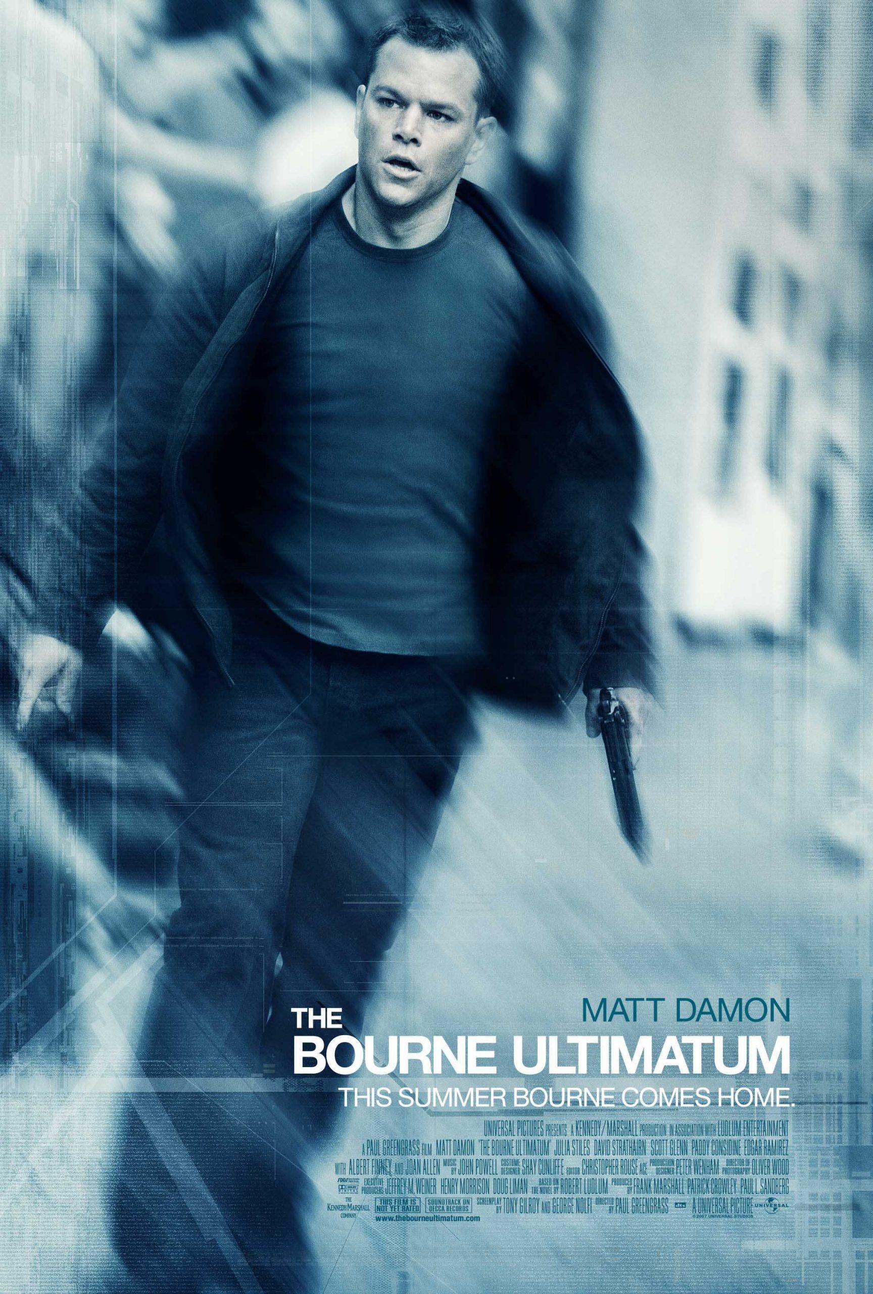 Πόστερ της ταινίας «Το τελεσίγραφο του Μπορν (2007) | The Bourne Ultimatum»