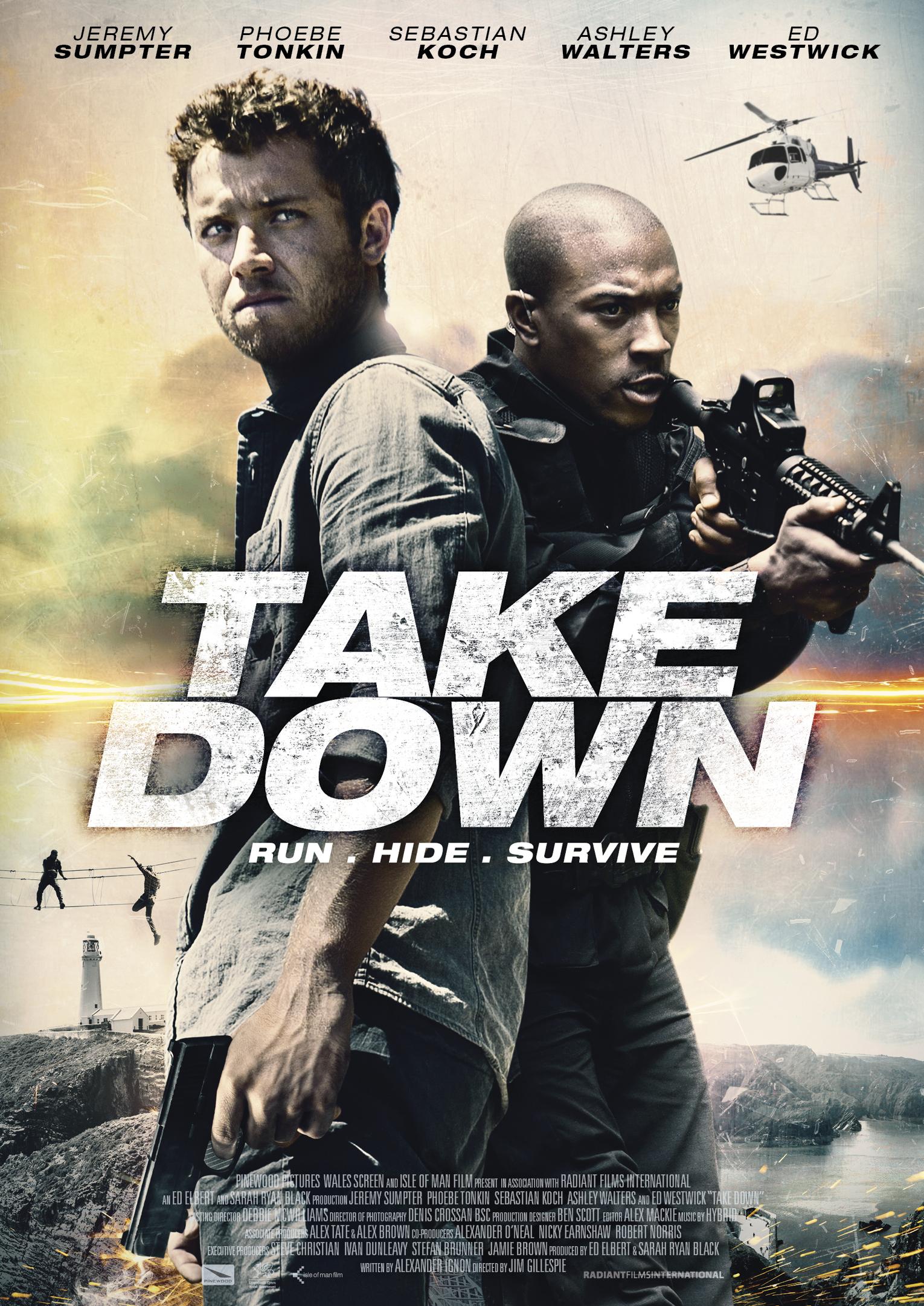 Πόστερ της ταινίας «Η Ομηρία (2016) | Take Down»