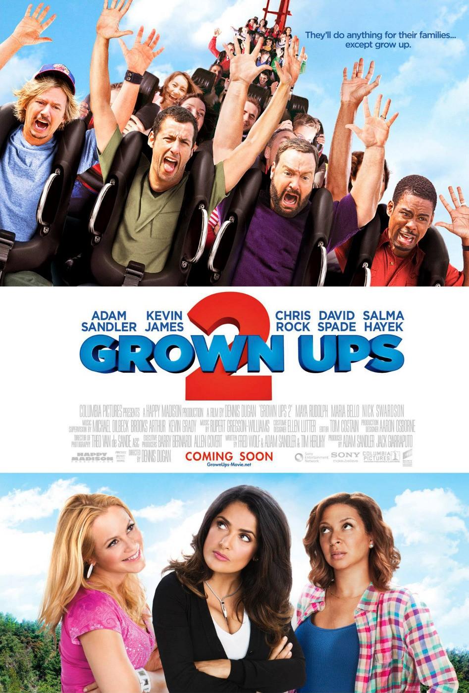 Πόστερ της ταινίας «Οι Μεγάλοι 2 (2013) | Grown Ups 2»
