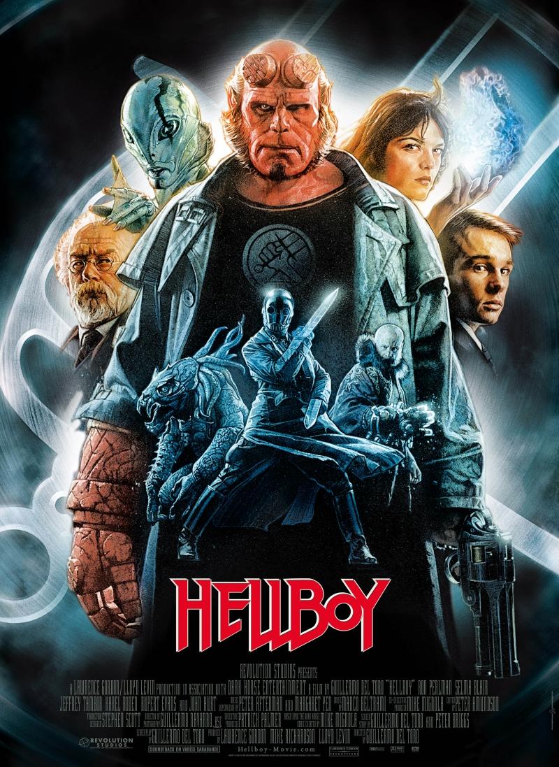 Πόστερ της ταινίας «Hellboy: Ο Ήρωας της Κόλασης (2004) | Hellboy»