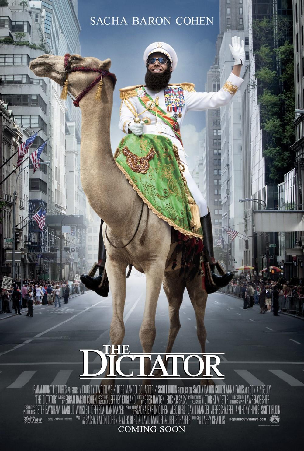 Πόστερ της ταινίας «Ο Δικτάτορας (2012) | The Dictator»