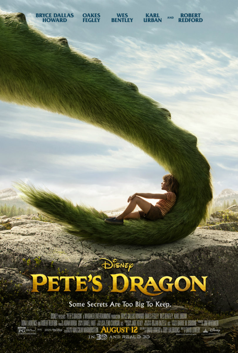 Πόστερ της ταινίας «Ο Πιτ και ο Δράκος του (2016) | Pete's Dragon»